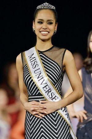 Ariana Miyamoto, Miss Univers Japon.