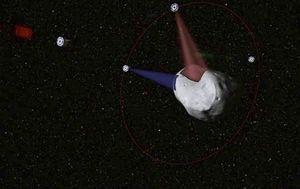 …SCANNER dans un premier temps pour déterminer la composition de la roche grâce à un satellite envoyé dans l'espace dès 2015.