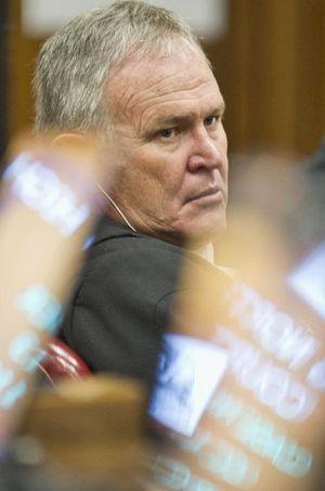 Barry Roux, l'avocat d'Oscar Pistorius.