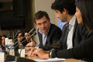 Benoist Apparu, l'ancien ministre du Logement de Nicolas Sarkozy, a débattu avec l'élue écologiste Karima Delli.