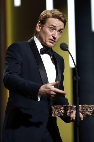 Benoît Magimel aux César le 26 février 2016.