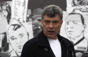 Boris Nemtsov, leader de l'opposition.