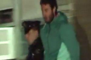 Yonathan Souid, arrêté pour avoir escaladé le pont de Brooklyn