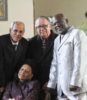 Manuel Mirabal, Jesus Ramos, Omara Portuondo et Barbarito Torres, les nouvelles stars du Buena Vista Social Club.