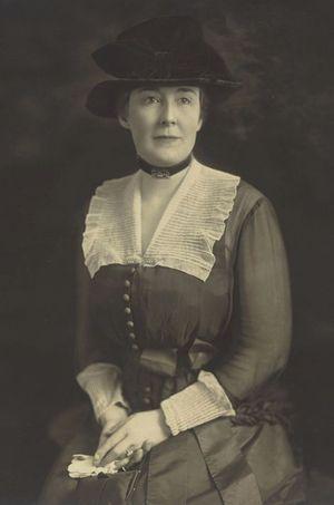 Carrie Phillips, l'autre maîtresse du président Warren G. Harding.