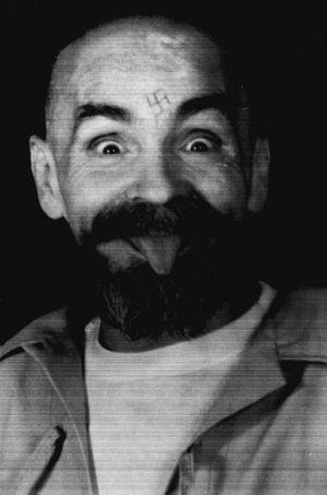Charles Manson en 1989.