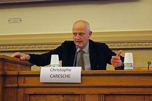 Le député PS Christophe Caresche a été interrogé par les lycéens.