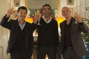 Les trois gendres , Frédéric Chau, Ary Abittan et Medi Sadoun