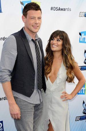 Cory Monteith et Lea Michele