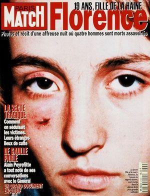 La couv' du n° 2369 de Match, le 20 Octobre 1994