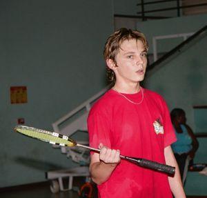 Jean-Daniel était devenu champion de Guyane de badminton.