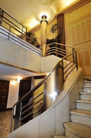 L'escalier de la brasserie Excelsior