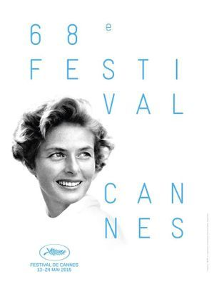 Ingrid Bergman, à l'affiche de la 68e édition du Festival de Cannes.