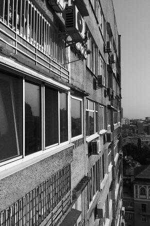 La façade de l'immeuble où résidait le Pr Masméjean.
