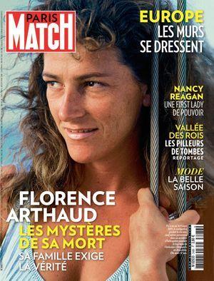 Florence Arthaud en une de Paris Match