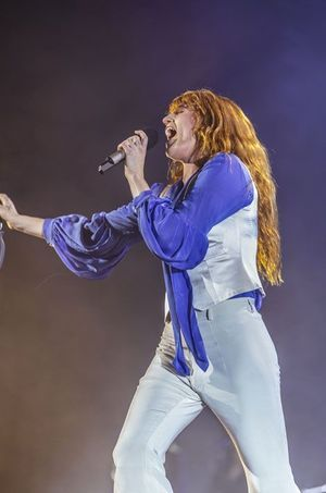 Florence Welch sur scène
