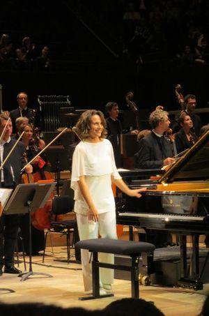 La pianiste Hélène Grimaud.