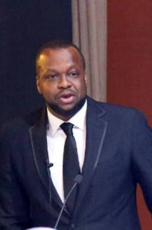 Igho Sanomi, ici à Marrakech en novembre 2015, est le plus jeune milliardaire du Nigeria
