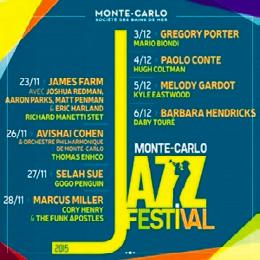 Tous les concerts se déroulent à la salle Garnier.