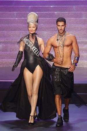 Une des Miss Vintage de Jean Paul Gaultier.