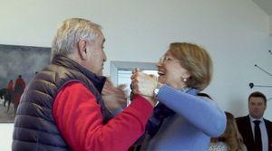 Jean-Pierre et Anne-Marie Raffarin dans le documentaire de Cyril Viguier.
