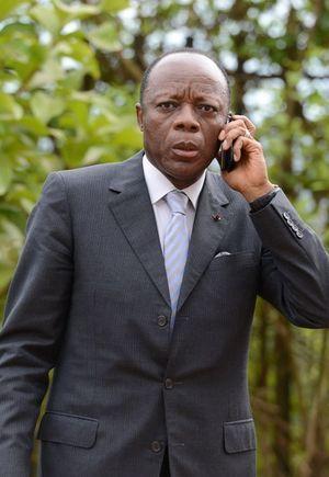 Le général Mokoko à Bangui, le 7 Mai 2014. Il est alors chef de la mission de l'Union Africaine pour la Centrafrique et l'Afrique centrale.