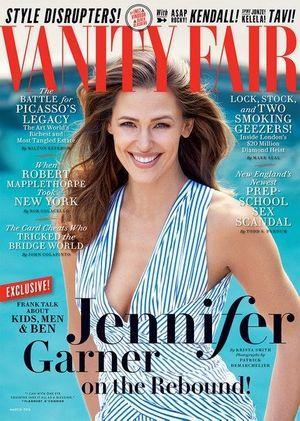 """Jennifer Garner se dévoile en toute intimité pour """"Vanity Fair""""."""
