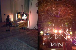 Les jeux d'arcades et le club.
