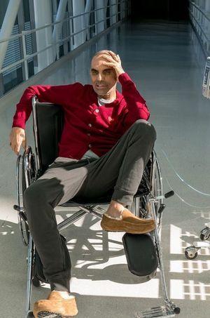 Christian Audigier, à l'hôpital Cedars-Sinai de LA.