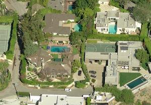 La maison de Leo DiCaprio sur Google Maps