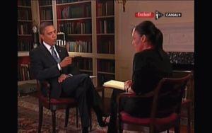 Laurence Haïm face à Barack Obama