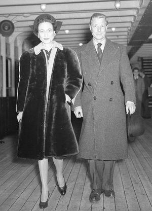 Le duc et la duchesse de Windsor, anciennement Edward VIII et Wallis Simpson.