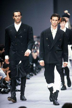 Les jupes pour hommes de Jean Paul Gaultier (1987)