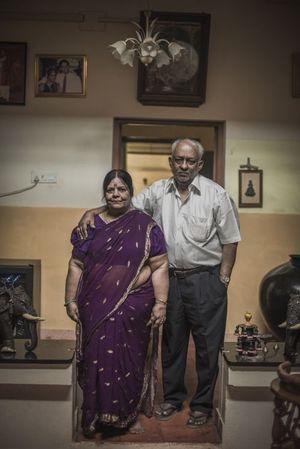 Paulin Victor, 75 ans, et sa femme, Valentine.