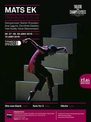« From Black to Blue », au théâtre des Champs-Elysées, à Paris, du 6 au 10 janvier.