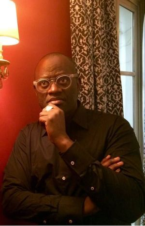 Alain Mabanckou le 10 mai 2016 à l'hôtel Aubusson à Paris