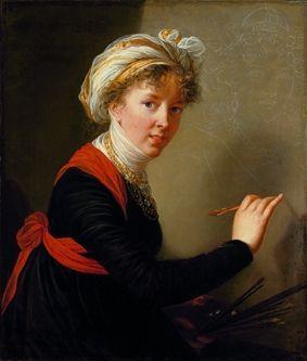 Autoportrait d'Elisabeth Louise Vigée-Lebrun.