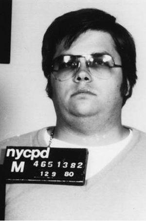 Mark David Chapman, le tueur de John Lennon, photographié par la police en 1980.