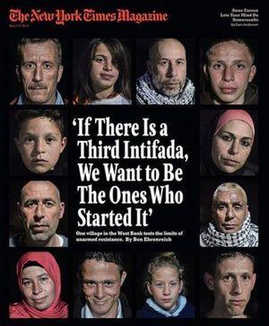 "Nabi Saleh a fait la Une du prestigieux ""New York Times Magazine"""
