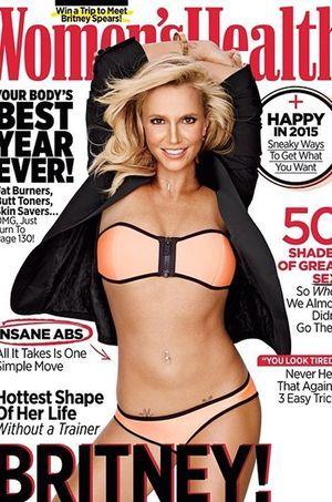 """Britney Spears en couverture de la nouvelle édition de """"Women's Health"""""""