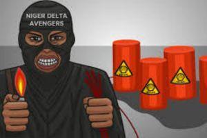 "Image de propagande diffusée par les ""Niger Delta Avengers"""