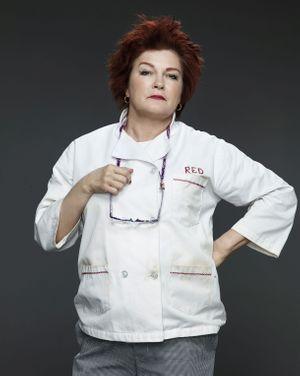 """Kate Mulgrew, alias """"Red"""", la chef cuistot russe"""