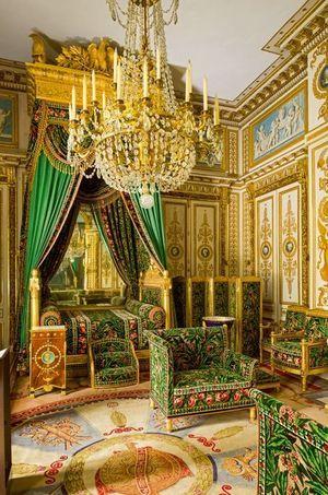 Chambre de l'Empereur Napoléon Ier au château de Fontainebleau