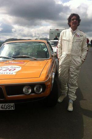 Luc Ferry, en route de ce Tour Optic 2000.