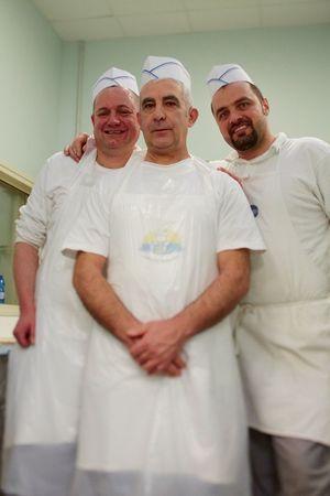 Plus pâtissiers que prisonniers, Luigi, Biago et Eugenio