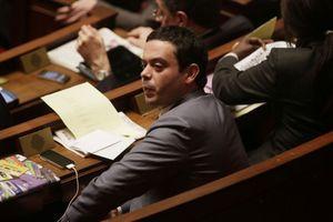 Le rapporteur du projet de loi sur la consommation, Razzy Hammadi.