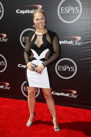 Ronda Rousey aux ESPY Awards en 2015