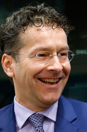 Jeroen Dijsselbloem à Bruxelles, le 24 février 2015.