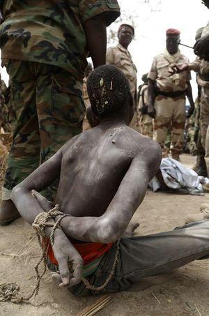 Un homme, suspecté d'être un membre de Boko Haram, est tombé dans les mains de l'arméé tchadienne.