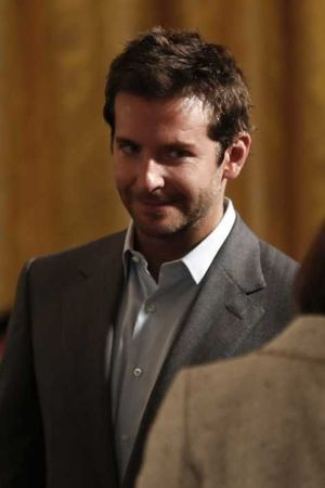 Bradley Cooper à la Maison Blanche lundi.